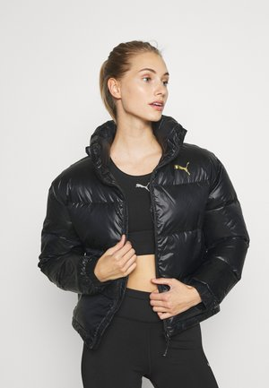 SHINE JACKET - Daunenjacke - black