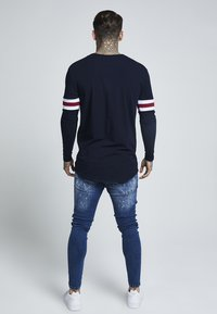 SIKSILK - TOURNAMENT LONG SLEEVE - Bluzka z długim rękawem - navy - 2