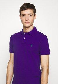 Polo Ralph Lauren - SLIM FIT MESH POLO SHIRT - Polotričko - chalet purple - 4