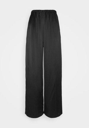 WILMA TROUSERES - Pyjama bottoms - black dark