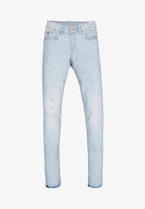 SARA - Slim fit jeans - bleached denim