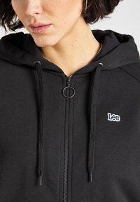 Lee - Zip-up sweatshirt - black - 4