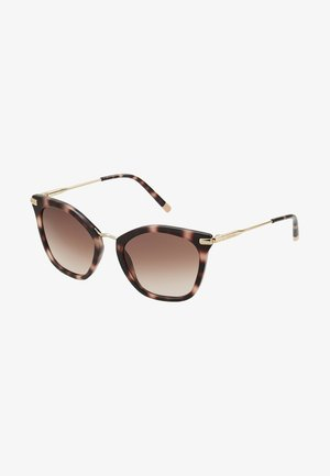 Sonnenbrille - rose/havana