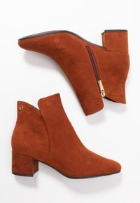 Tamaris - WOMS - Ankle boots - brandy - 3