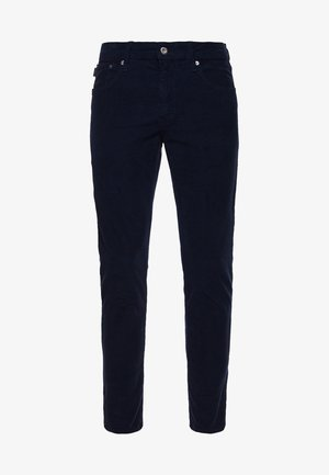 FIVE POCKET CORD  - Trousers - nordic chrome navy