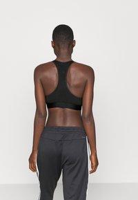adidas Performance - Sports bra - black/pink - 2