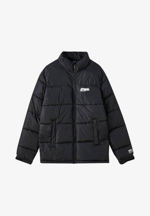 Winter jacket - black denim