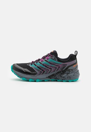 GEL-TRABUCO TERRA - Trail running shoes - black/digital grape