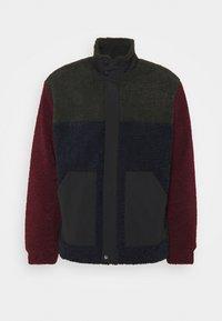 CUT AND SEW - Fleece jacket - burgundy