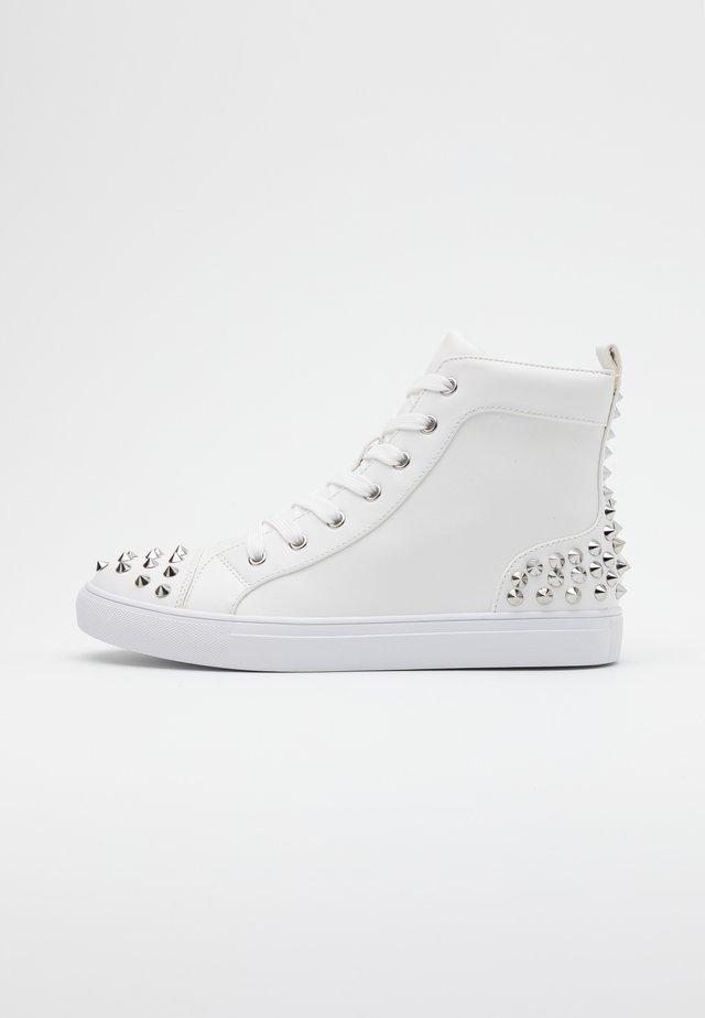CORDZ - Sneakersy wysokie - white