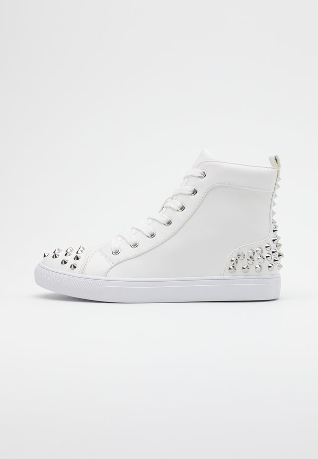 CORDZ - Sneakers hoog - white