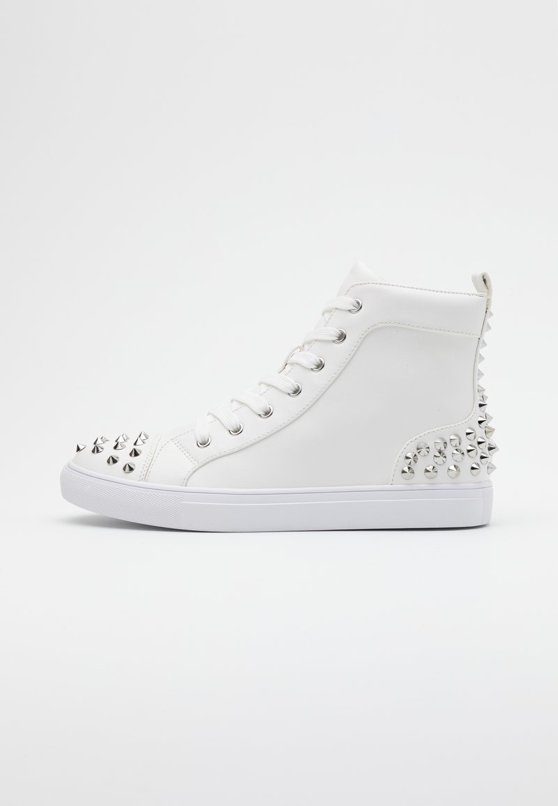 Steve Madden - CORDZ - Sneakersy wysokie - white