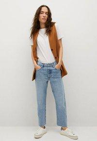 Mango - Straight leg jeans - medium blue - 1
