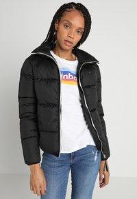 G-Star - MEEFIC SUNDU OVERSHIRT - Winter jacket - dark black - 5