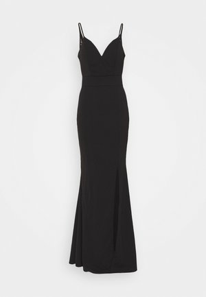 ANNALISE HIGH SPLIT MAXI DRESS - Gallakjole - black