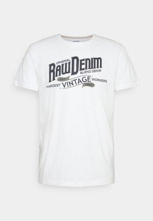 TEE - T-shirt print - bright white