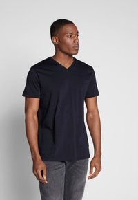 Esprit - Basic T-shirt - navy - 0