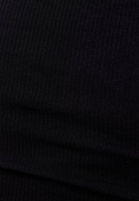 Bershka - FUNKTIONS - Basic T-shirt - black - 5