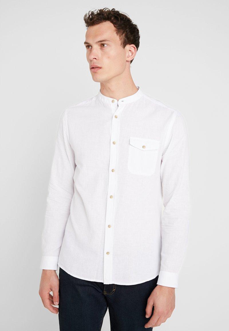 Burton Menswear London - GRANDAD - Shirt - white