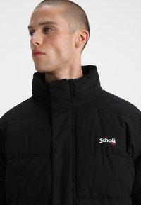 Schott - NEBRASKA - Winter jacket - black - 5