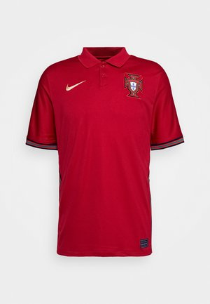 PORTUGAL - Club wear - gym red/metallic gold