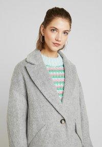 Topshop - EFFIE BRUSHED COAT - Manteau classique - grey - 3