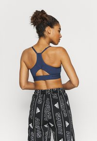 adidas Performance - LIGHT BRA - Sujetador deportivo - dark blue