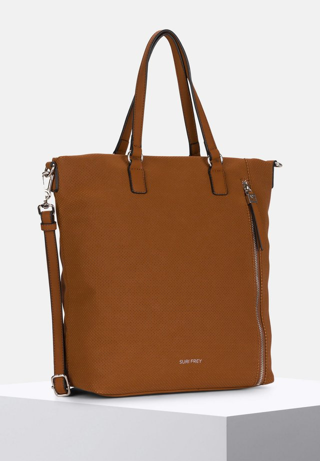 ROMY HETTY - Shopper - cognac