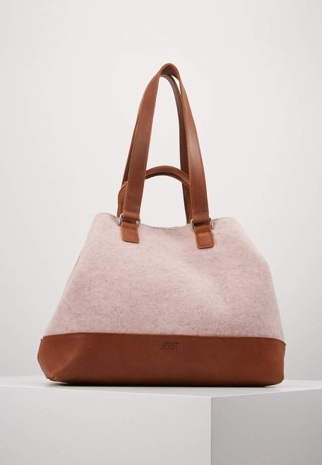 Shopping bag - rosewood
