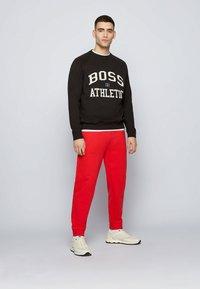 BOSS - STEDMAN_RA - Sweater - black - 4