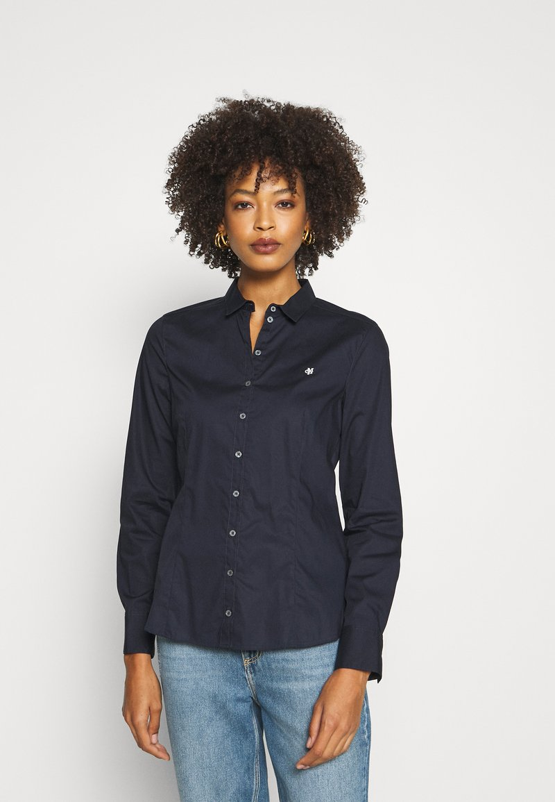 Marc O'Polo - Blouse - thunder blue