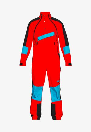 EXTREME WIND SUIT - Větrovka - fiery red combo