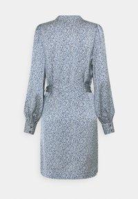 Scotch & Soda - DRAPEY PRINTED DRESS - Day dress - blue - 1