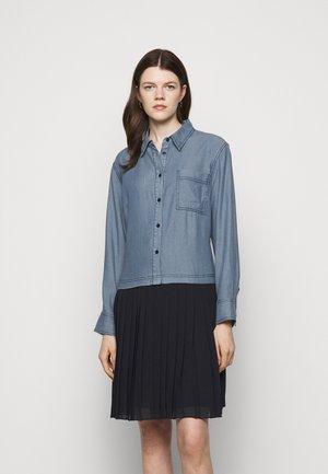 LAUREN HIP DRESS - Shirt dress - summer indigo