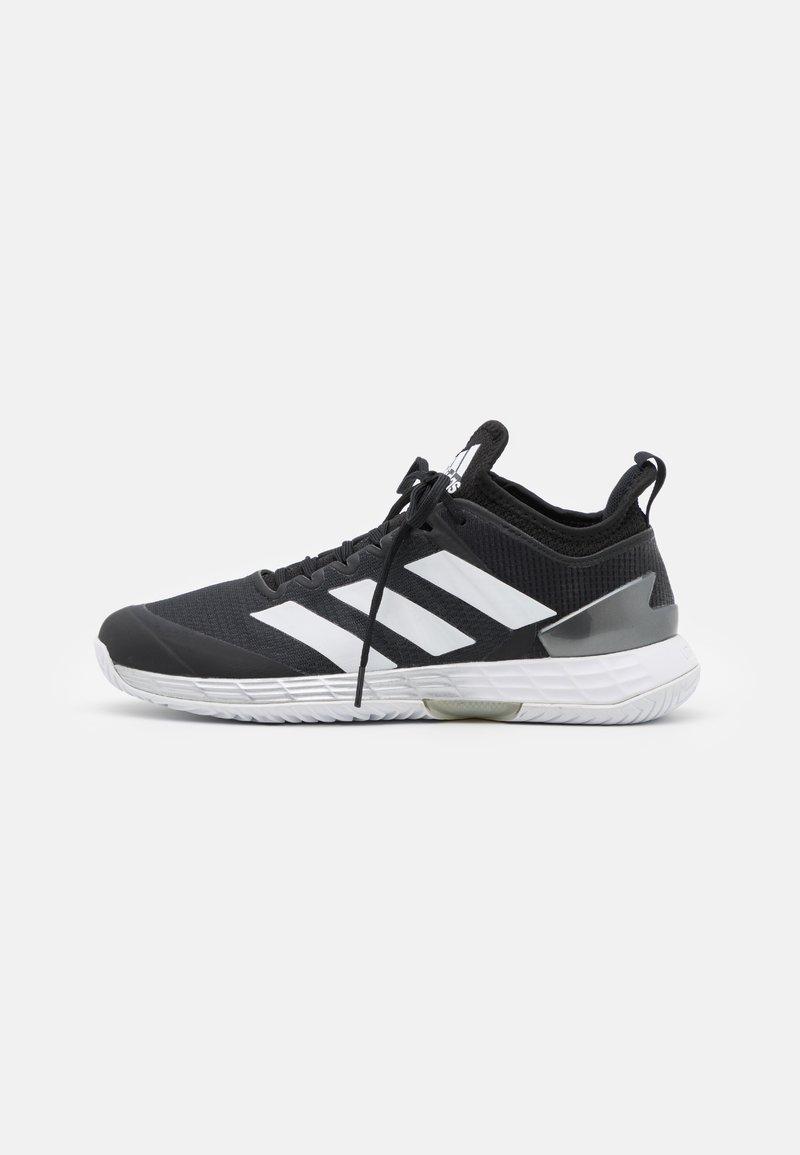 adidas Performance - ADIZERO UBERSONIC 4 - Multicourt tennis shoes - core black/footwear white/silver metallic