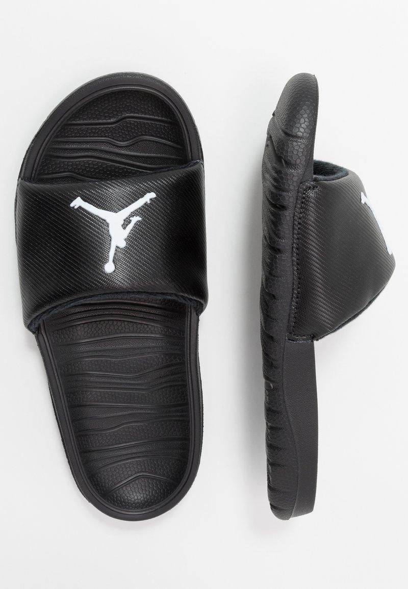 Jordan - BREAK SLIDE - Pool slides - black/white