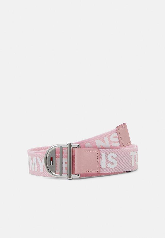 WEBBING BELT - Belt - pink