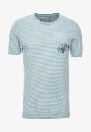 ONSPATRIK SLIM TEE  - Print T-shirt - blue