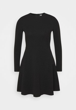 FIT AND FLARED - Robe d'été - black
