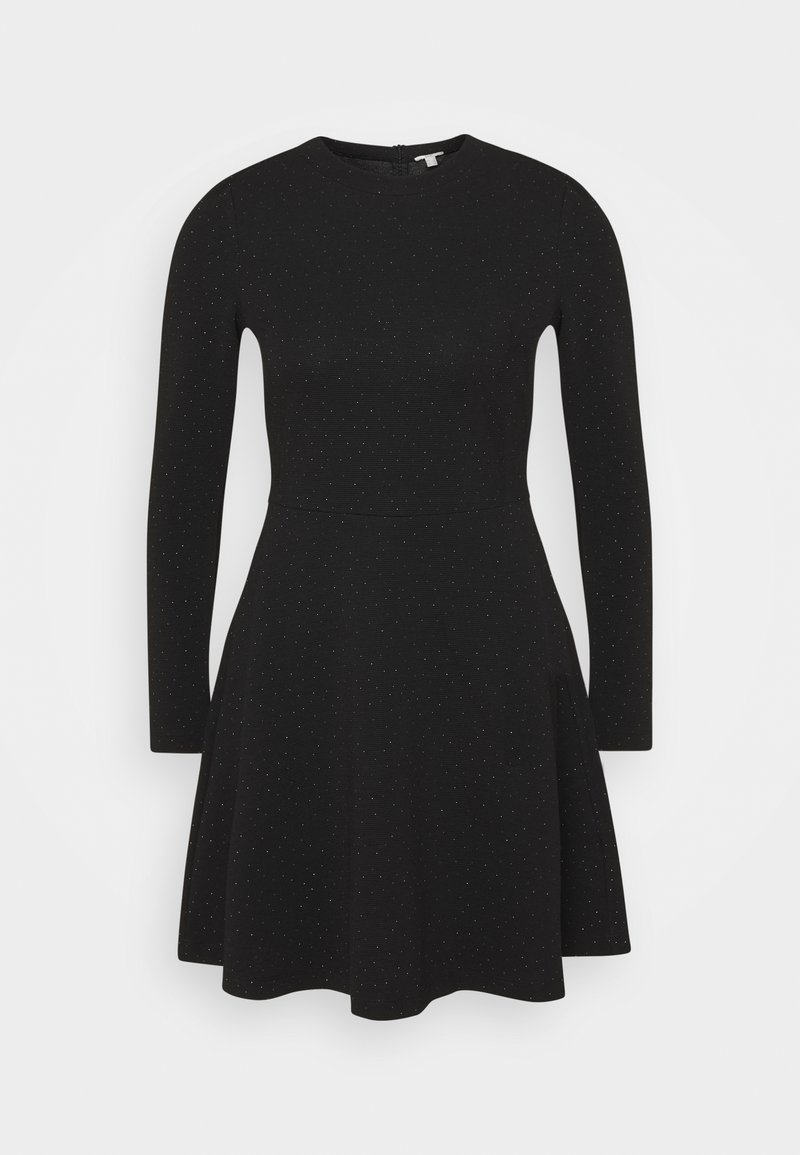 edc by Esprit - FIT AND FLARED - Day dress - black