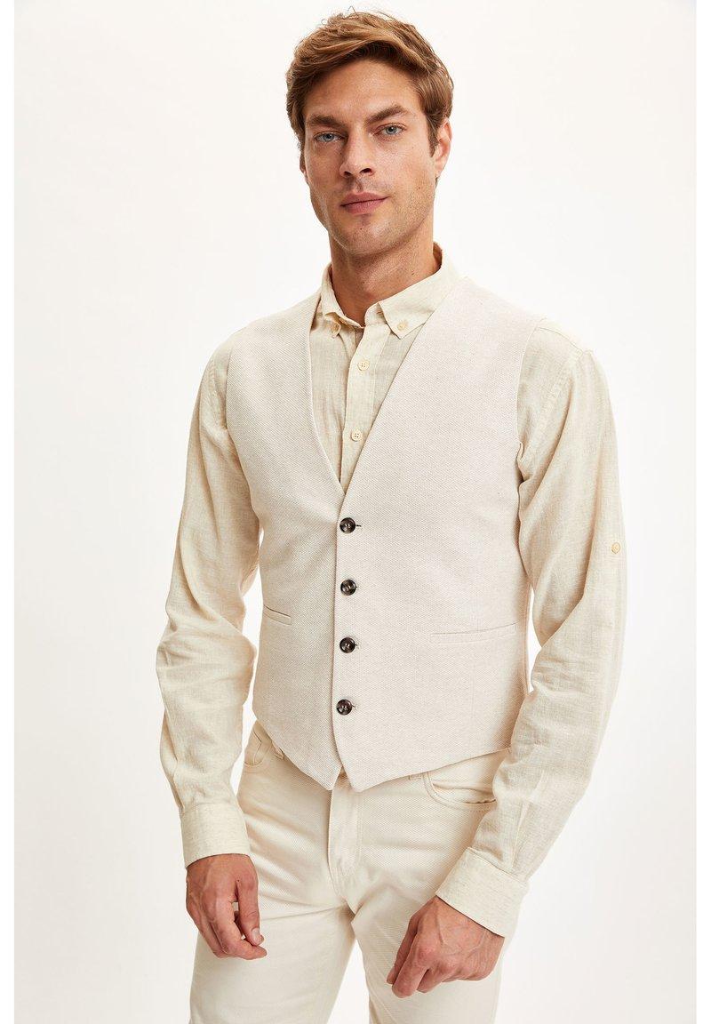 DeFacto - Waistcoat - beige