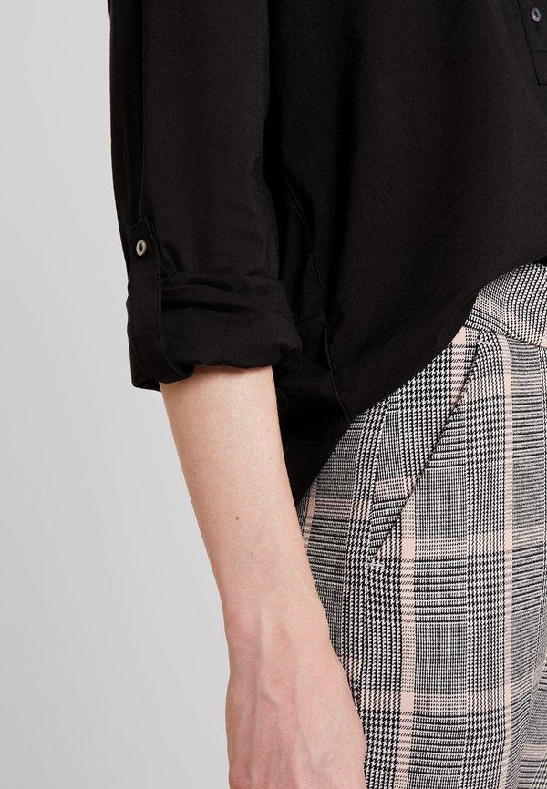edc by Esprit SOLID - Bluzka - black/czarny MXUH