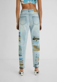 Desigual - DESIGNED BY ESTEBAN CORTAZAR - Relaxed fit jeans - blue - 2