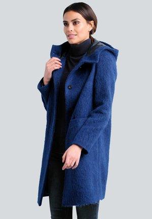 Classic coat - royalblau