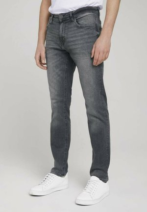 JOSH - Slim fit jeans - clean light stone grey denim