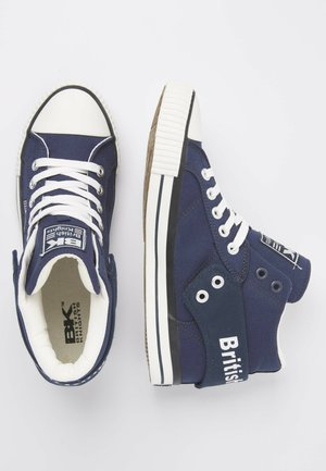 Sneakers high - navy
