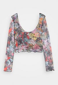 NEW girl ORDER - FLORAL FISH TOP - Long sleeved top - multi-coloured - 1