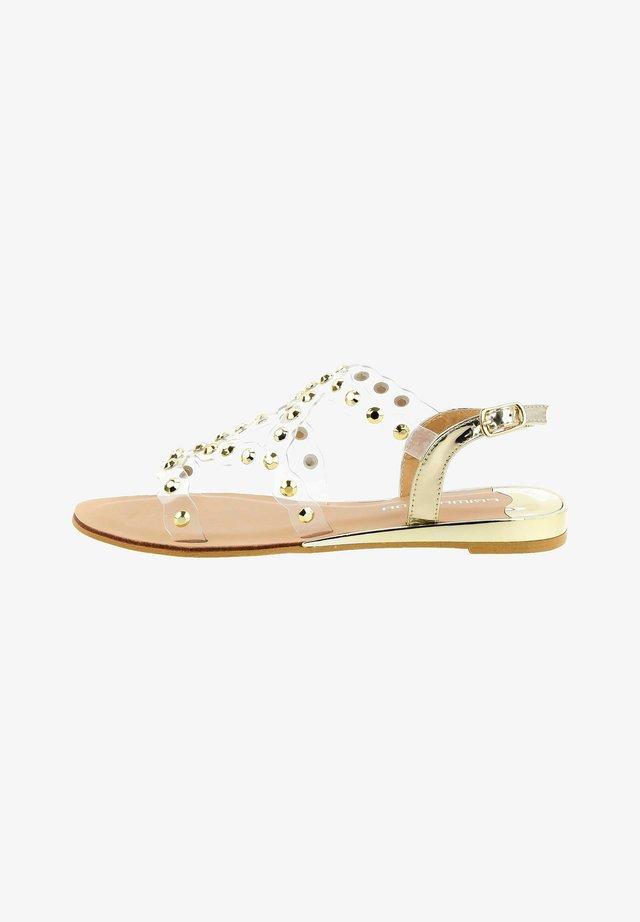 VERESENO - Sandals - platinum