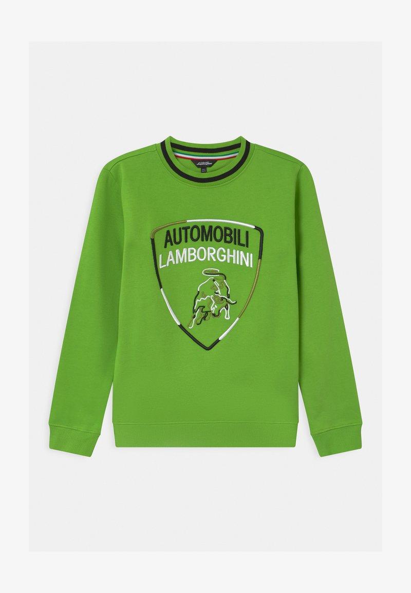 Automobili Lamborghini Kidswear - SHIELD - Sweatshirt - green mantis