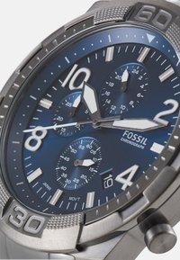 Fossil - BRONSON - Chronograph watch - smoke - 4